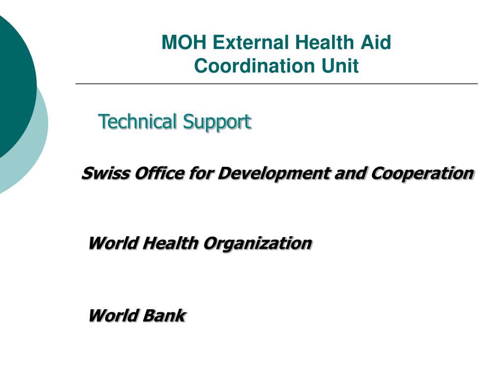 MOH External Health Aid