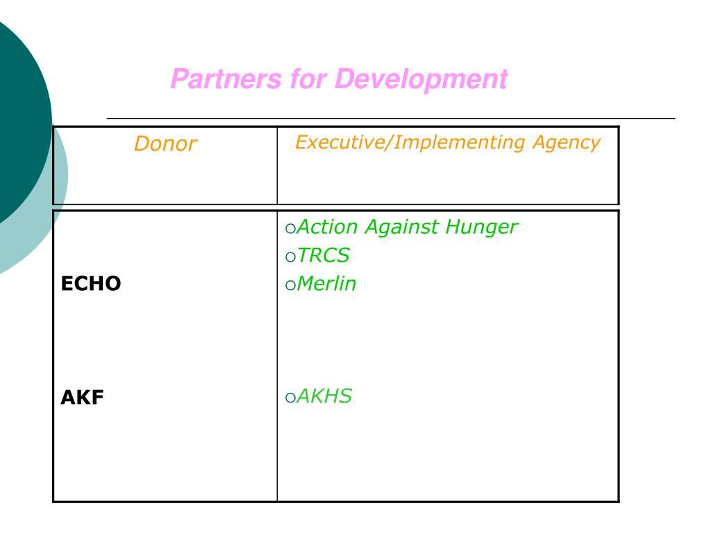 Partners for Development