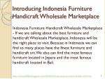 introducing indonesia furniture handicraft wholesale marketplace
