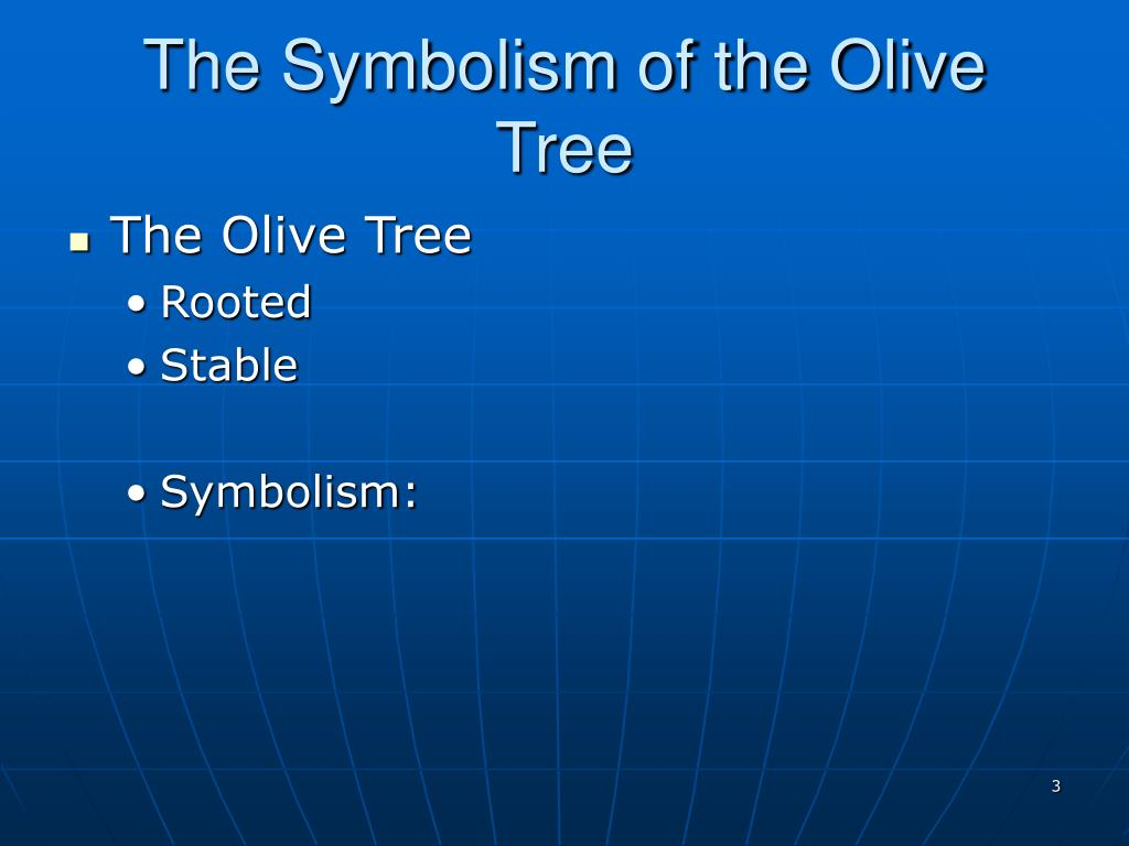 The Symbolism of the Olive Tree