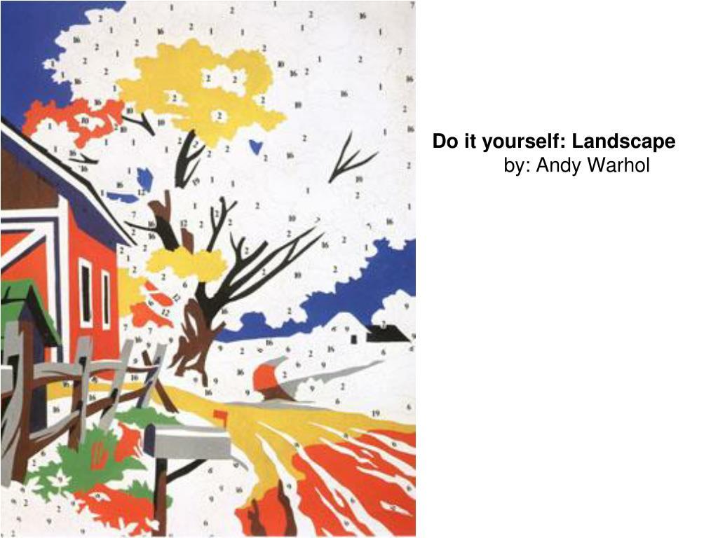 Do it yourself: Landscape