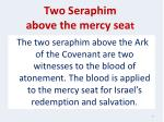 two seraphim above the mercy sea t