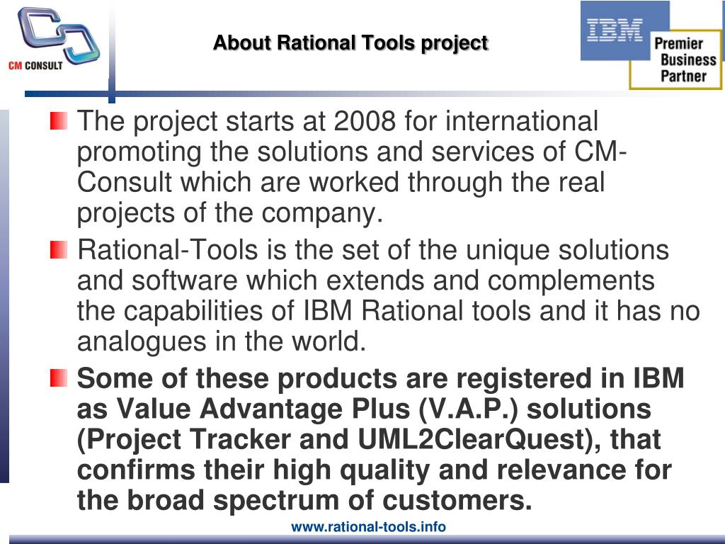 About Rational Tools project