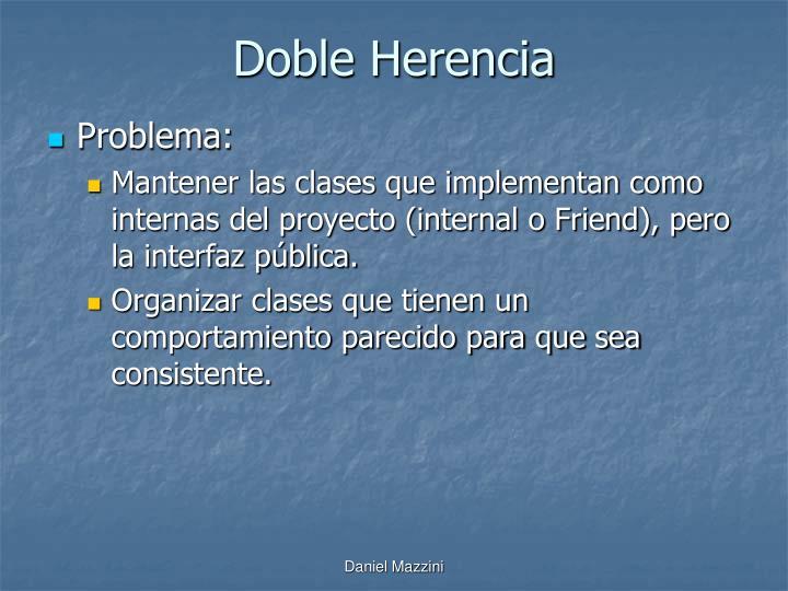 Doble Herencia