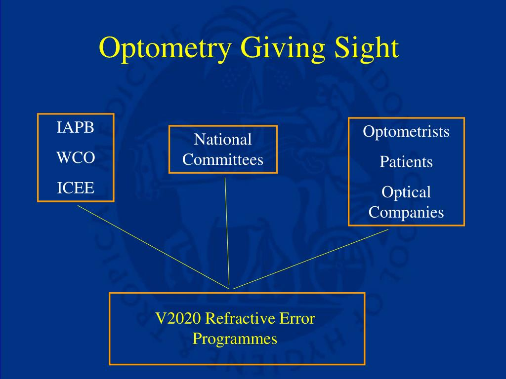 Optometry Giving Sight
