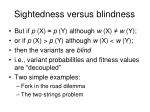 sightedness versus blindness5