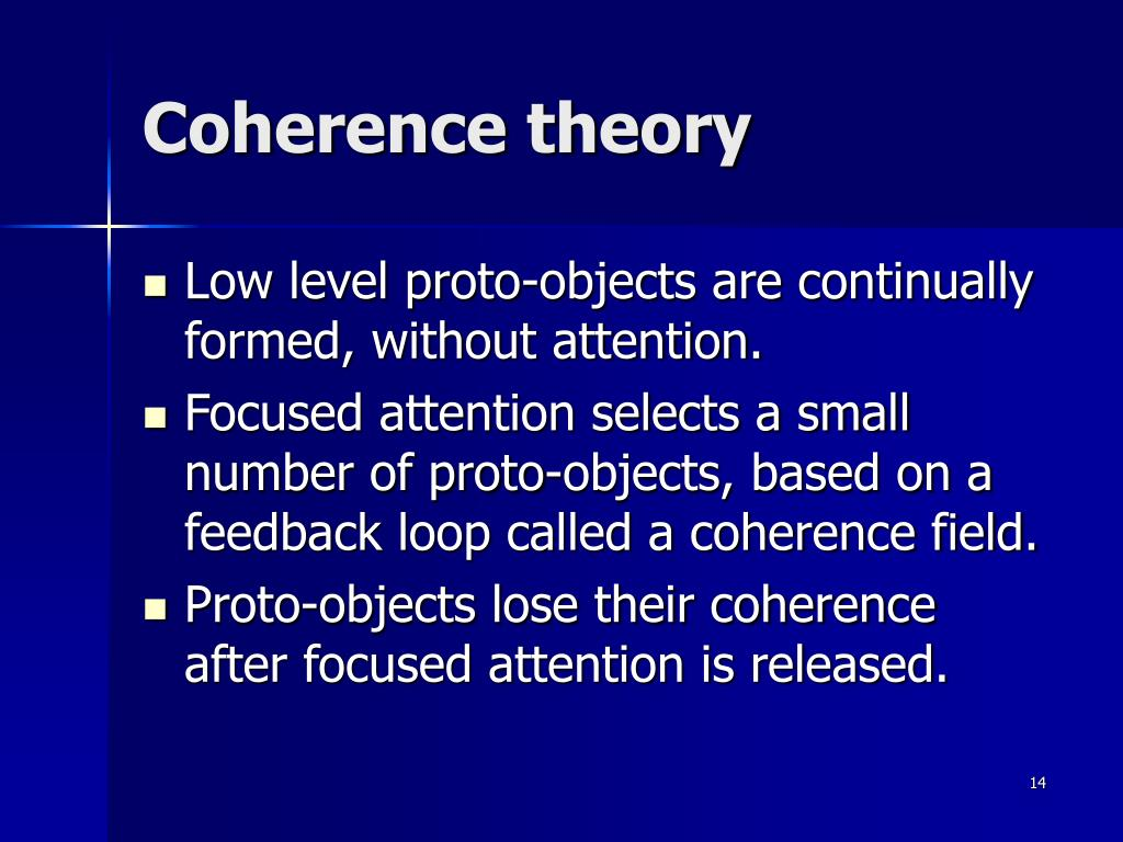 Coherence theory