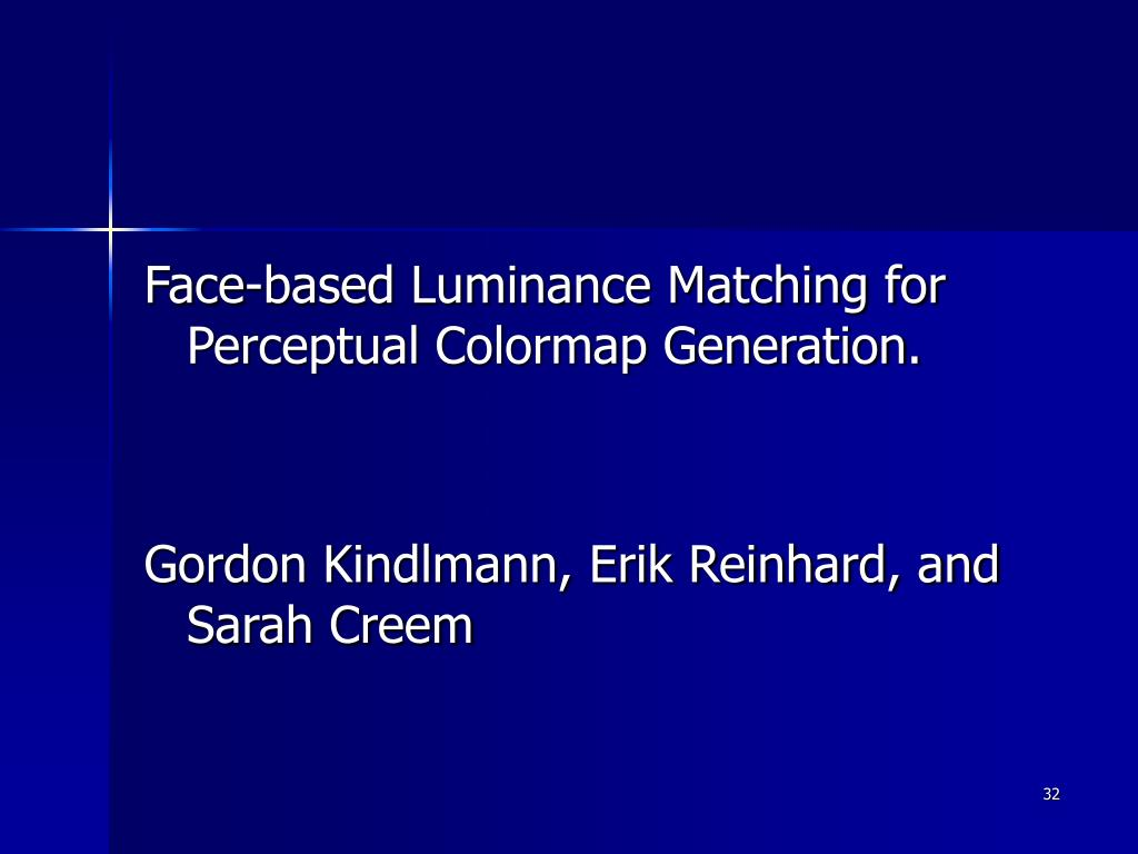 Face-based Luminance Matching for Perceptual Colormap Generation.