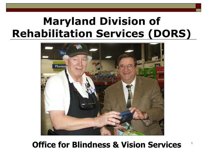 Maryland Division of