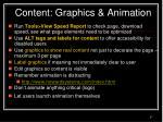 content graphics animation