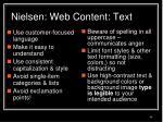 nielsen web content text