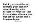 green collar jobs in america s cities