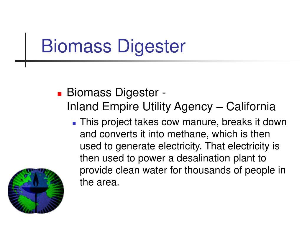 Biomass Digester