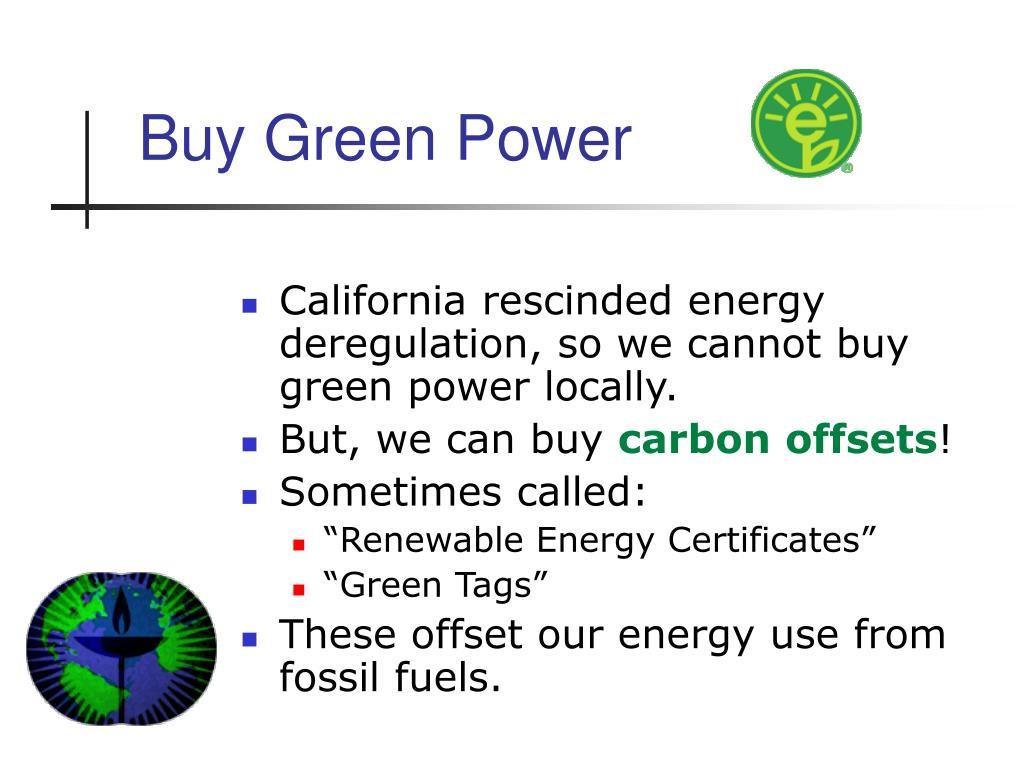Buy Green Power