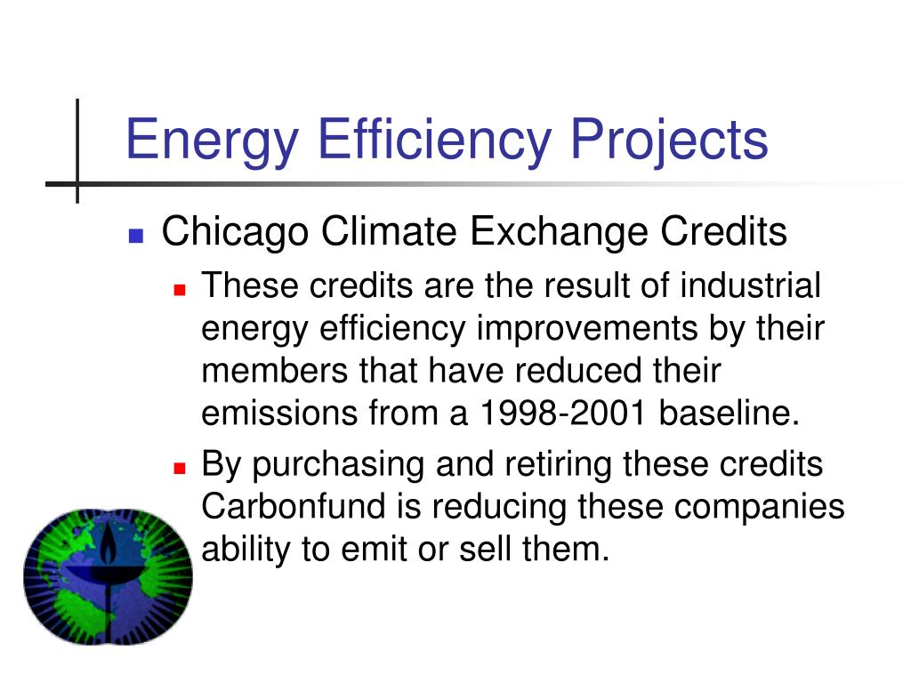 Energy Efficiency Projects