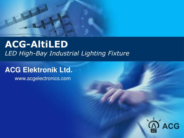 acg altiled led high bay industrial lighting fixture n.