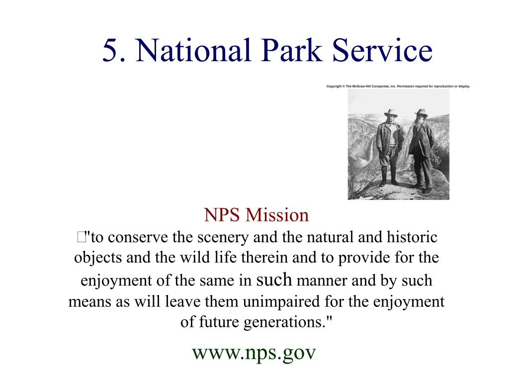 5. National Park Service