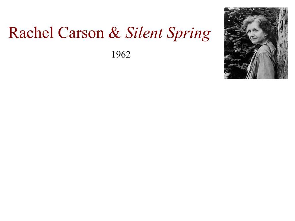 Rachel Carson &