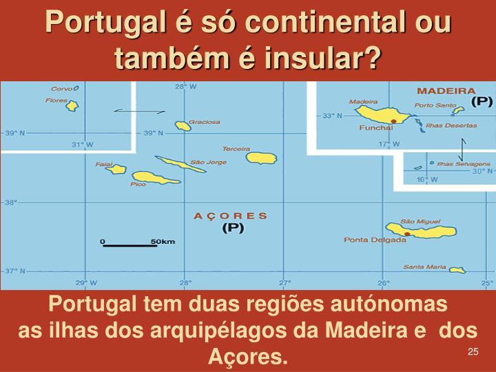 Portugal é