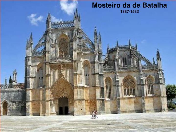 Mosteiro da de Batalha