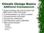climate change basics additional consequences