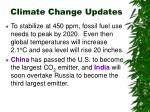 climate change updates20