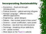 incorporating sustainability25