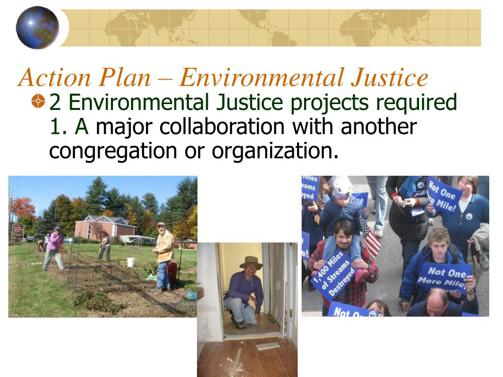 Action Plan – Environmental Justice