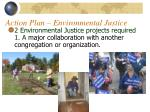 action plan environmental justice