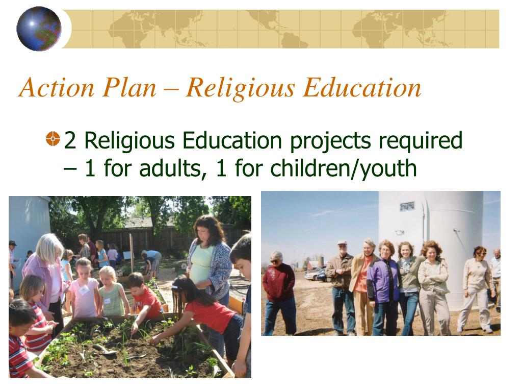 Action Plan – Religious Education