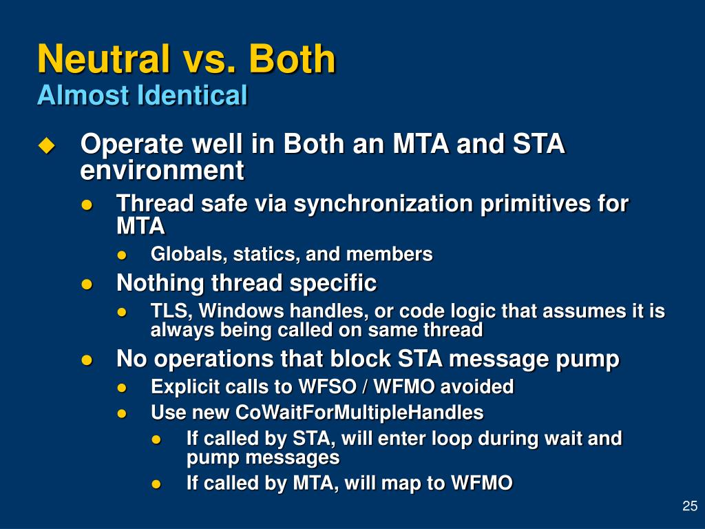 Neutral vs. Both