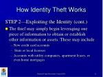 how identity theft works11