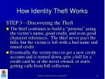 how identity theft works12