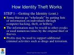 how identity theft works9
