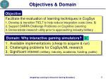 objectives domain