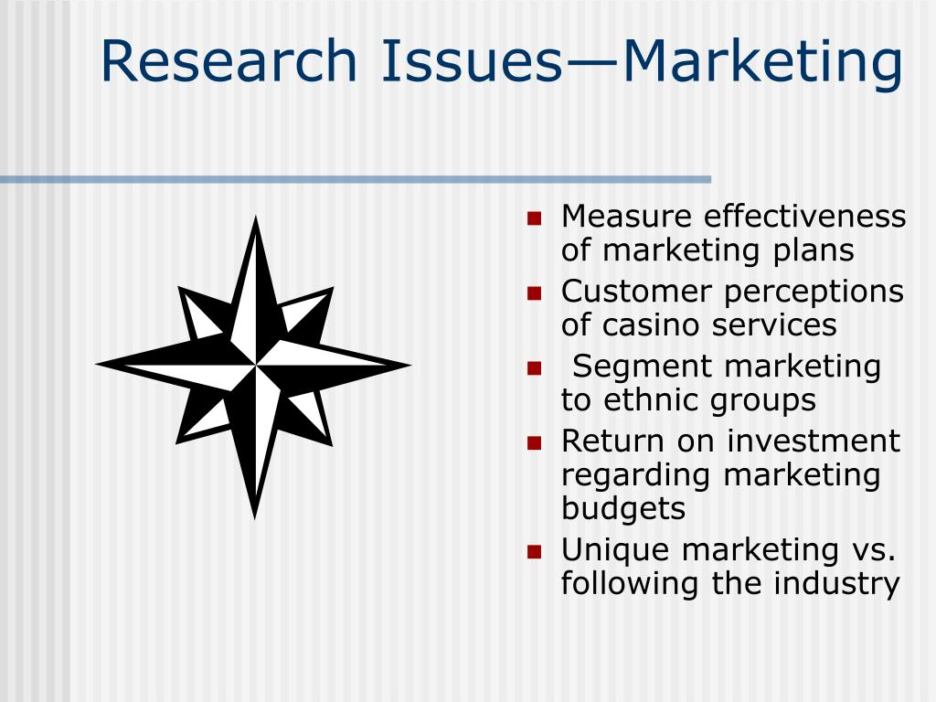 Research Issues—Marketing