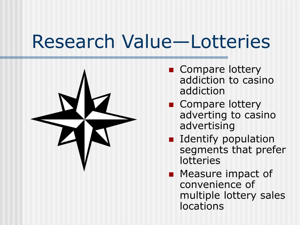 Research Value—Lotteries
