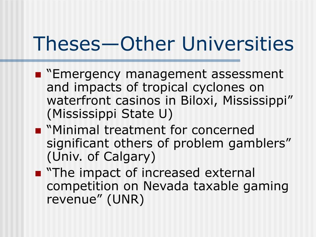 Theses—Other Universities