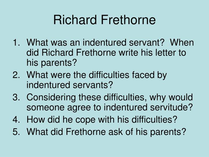 Richard Frethorne