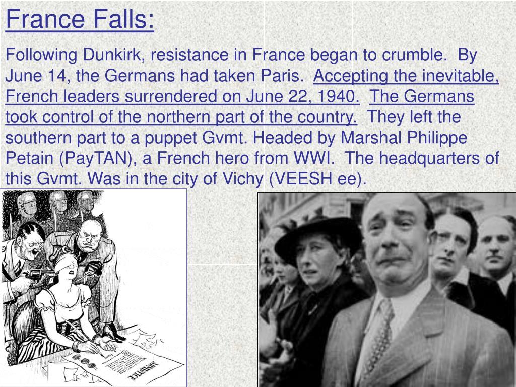 France Falls: