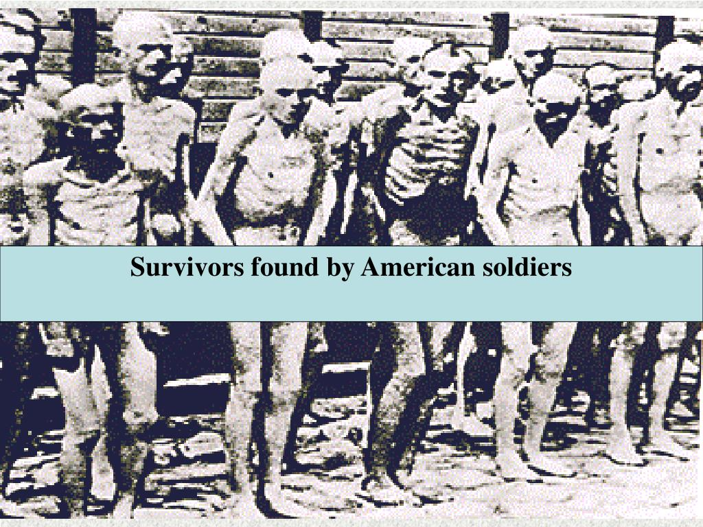 Survivors found by American soldiers