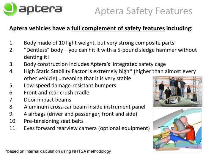 Aptera Safety Features