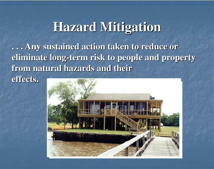 Hazard Mitigation