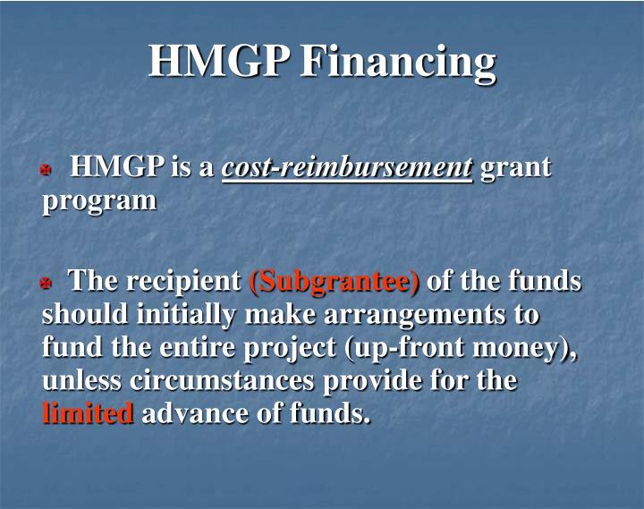 HMGP Financing