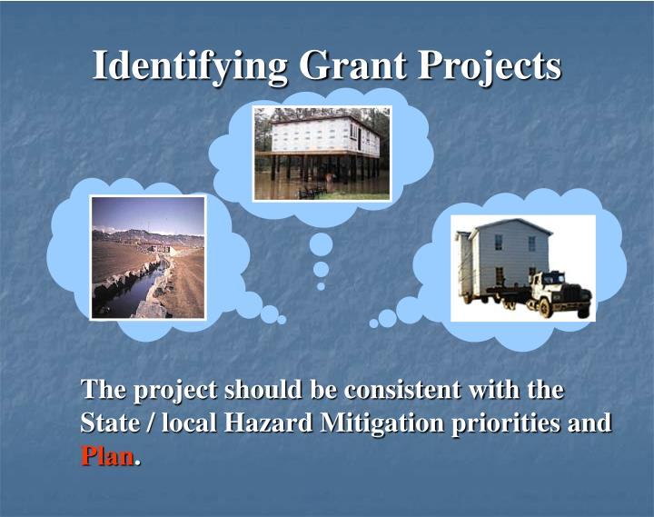 Identifying Grant Projects
