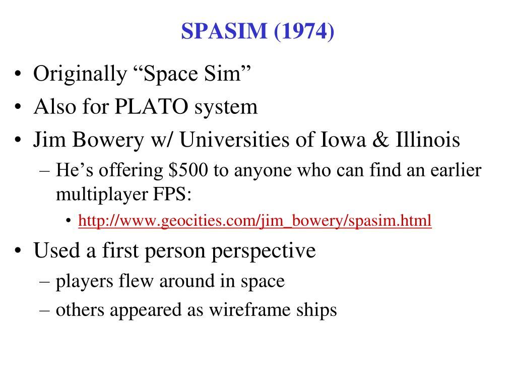SPASIM (1974)