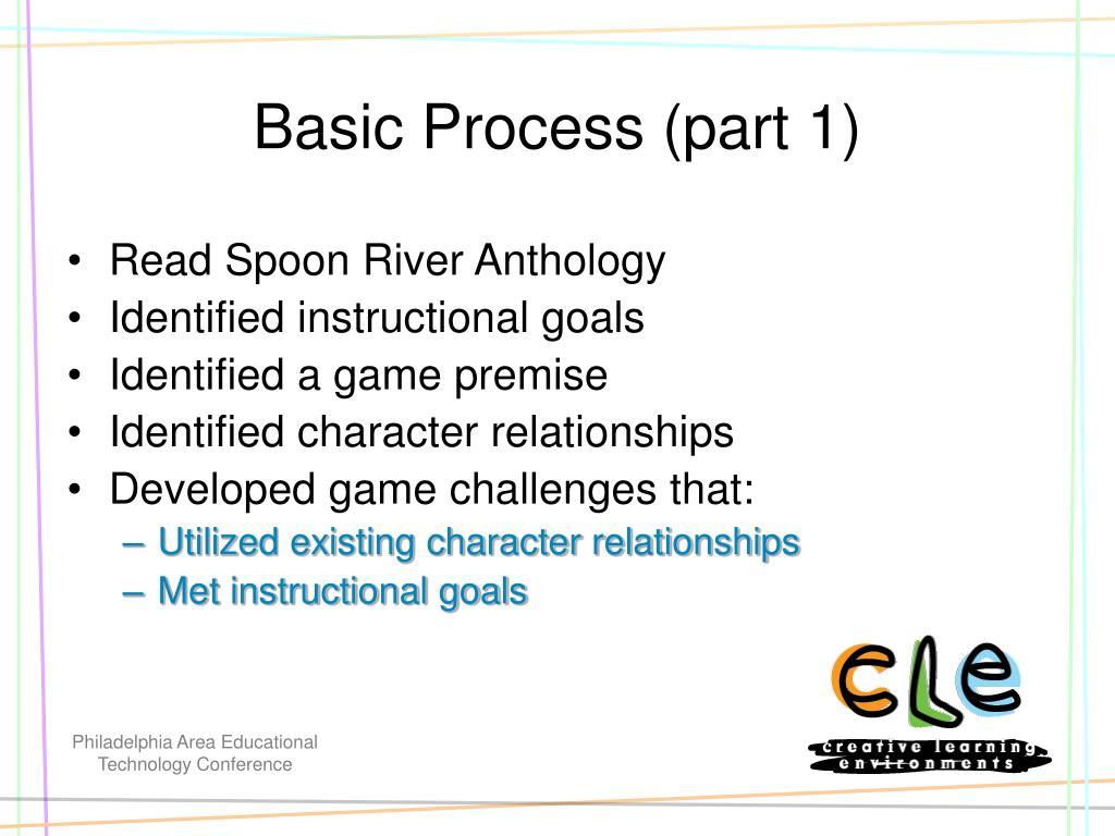Basic Process (part 1)