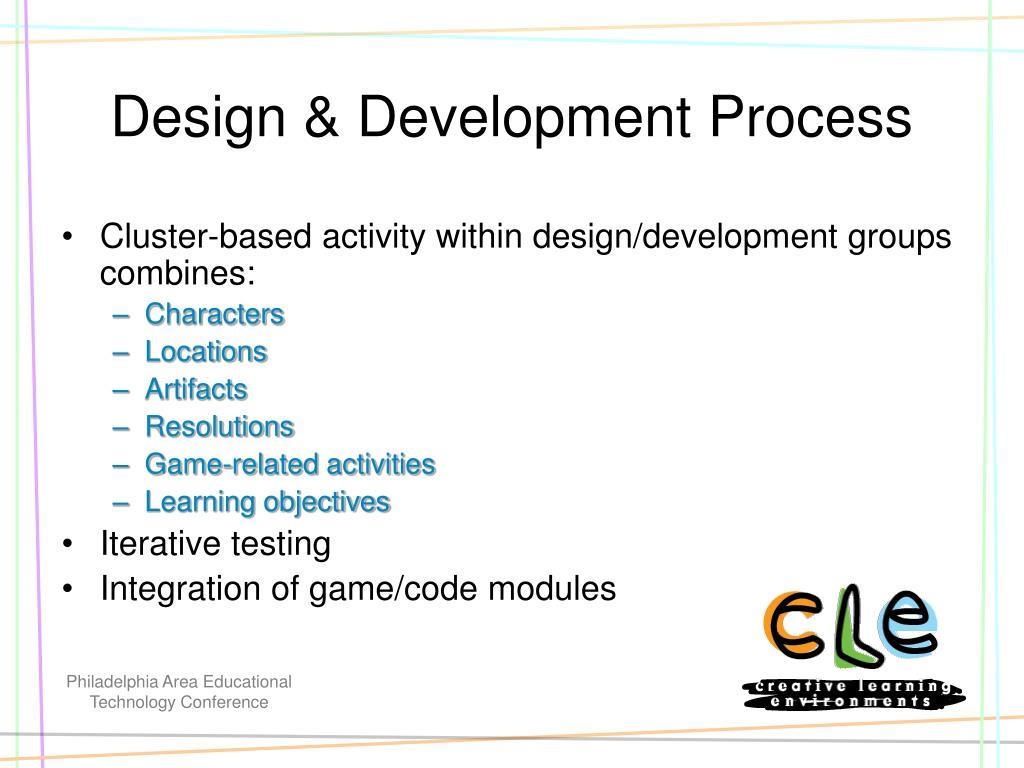 Design & Development Process