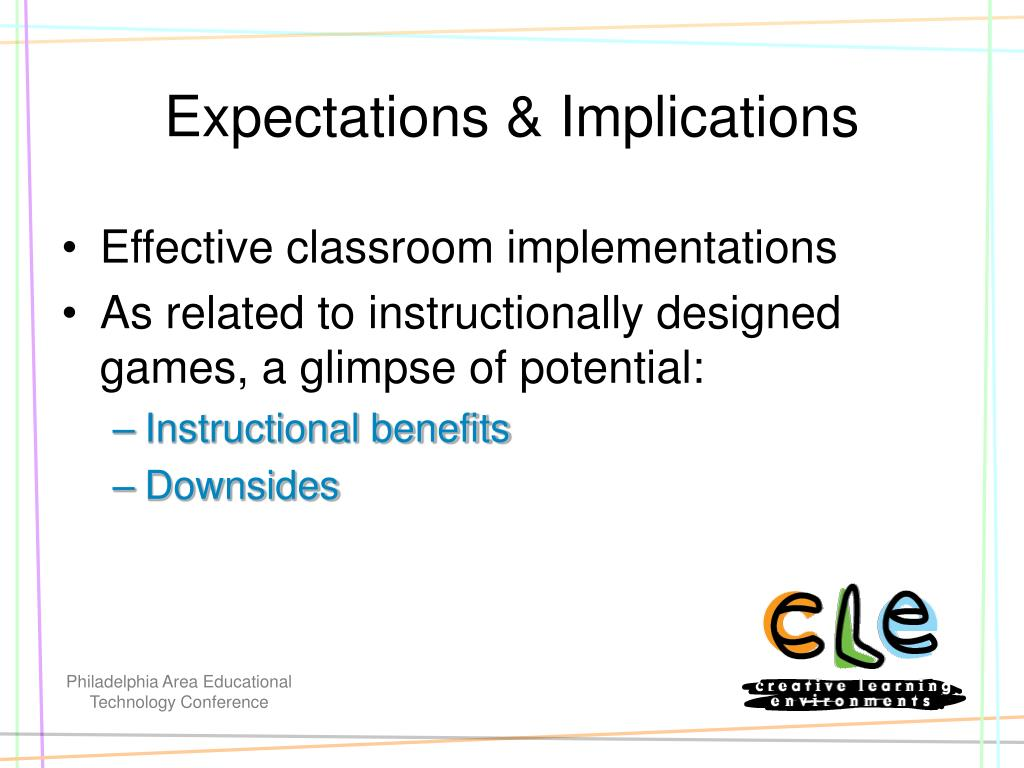 Expectations & Implications