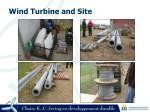wind turbine and site6